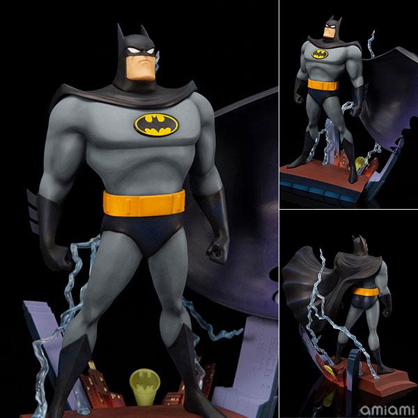 ARTFX+ DC UNIVERSE バットマン アニメイテッド オープニングエディション 1/10 完成品フィギュア[コトブキヤ]《11月予約》