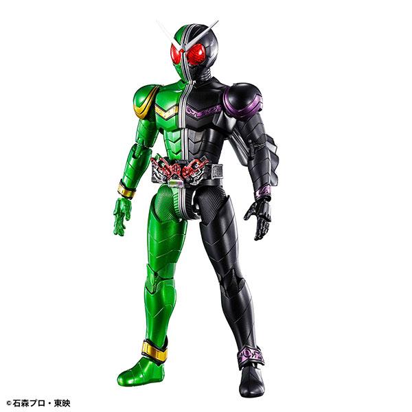 Figure-rise Standard 仮面ライダーW サイクロンジョーカー プラモデル(再販)[BANDAI SPIRITS]《発売済・在庫品》