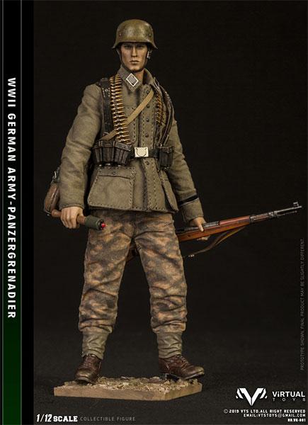 1/12 ポケットエリートシリーズ WWWII ドイツ軍 装甲擲弾兵[VTSトイズ]《12月仮予約》