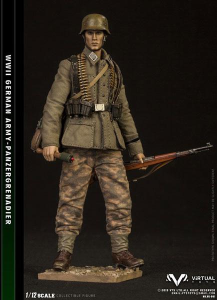 WWII German Army 1/12 装甲擲弾兵師団アクションフィギュア[Virtual Toys]《10月仮予約》