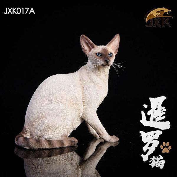 1/12 シャム猫 座り ver. ホワイト[JXKスタジオ]《07月仮予約》