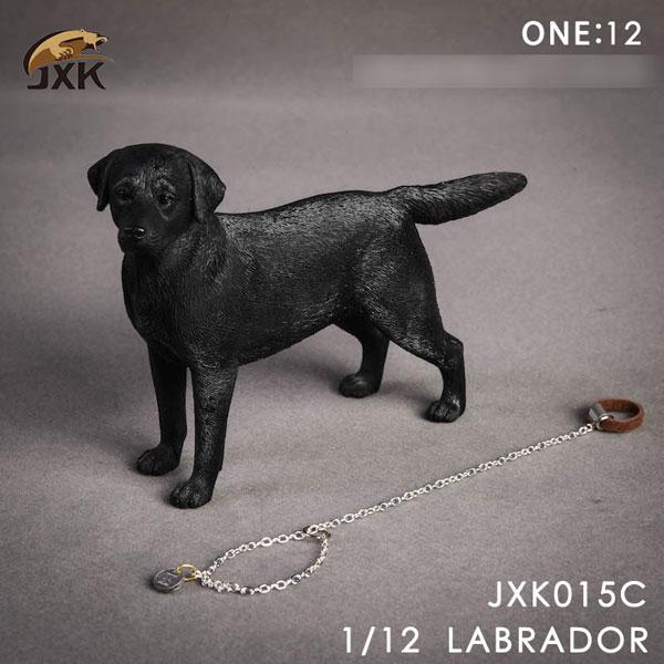 1/12 ラブラドール C ブラック[JXKスタジオ]《在庫切れ》