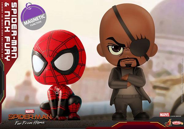 コスベイビー 『スパイダーマン:ファー・フロム・ホーム』[サイズS]スパイダーマン&ニック・フューリー(2体セット)[ホットトイズ]《発売済・在庫品》