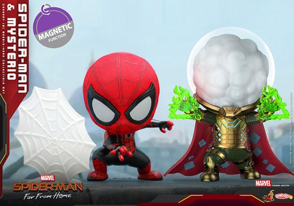 コスベイビー スパイダーマン ファー・フロム・ホーム サイズS スパイダーマン(ウェブ シューティング版)&ミステリオ[ホットトイズ]《発売済・在庫品》