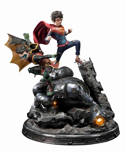 ミュージアムマスターライン/ SUPERMAN: スーパーボーイ&ロビン 1/3 スタチュー[プライム1スタジオ]【同梱不可】【送料無料】《在庫切れ》