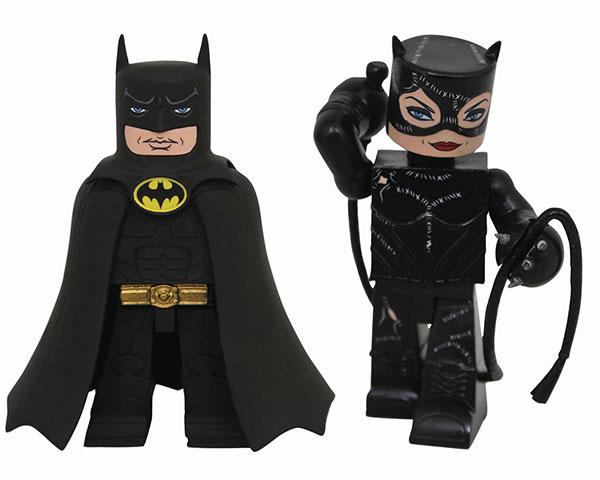 ビニメイツ/ バットマン リターンズ: バットマン&キャットウーマン 2PK[アートアサイラム]《在庫切れ》
