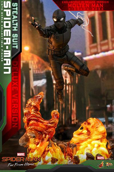 ムービー・マスターピース Far From Home 1/6 スパイダーマン DX版 延期前倒可能性大[ホットトイズ]【送料無料】《発売済・在庫品》