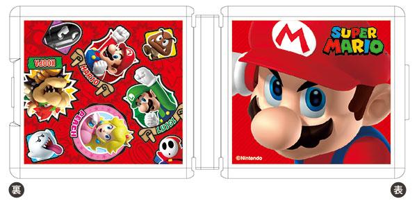 Nintendo Switch専用カードポケット24 スーパーマリオ2[マックスゲームズ]《在庫切れ》