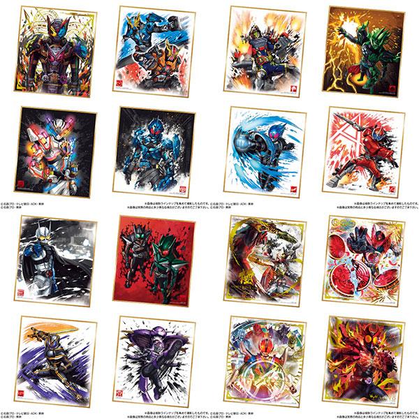 仮面ライダー 色紙ART3 10個入りBOX (食玩)[バンダイ]【同梱不可】【送料無料】《在庫切れ》