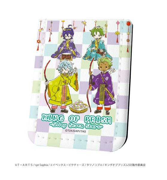 レザーフセンブック KING OF PRISM -Shiny Seven Stars- ミナト&ユウ&アレクサンダー&ジョージ ひなまつりver.(グラフアート)[A3]《在庫切れ》