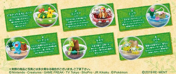 ポケットモンスター テラリウムコレクション6 6個入りBOX (食玩)[リーメント]《発売済・在庫品》