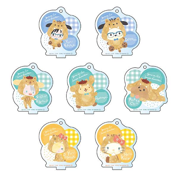 ユーリ!!! on ICE × サンリオキャラクターズ ミニアクリルスタンド イノシシver. 7個入りBOX[コンテンツシード]《05月予約》