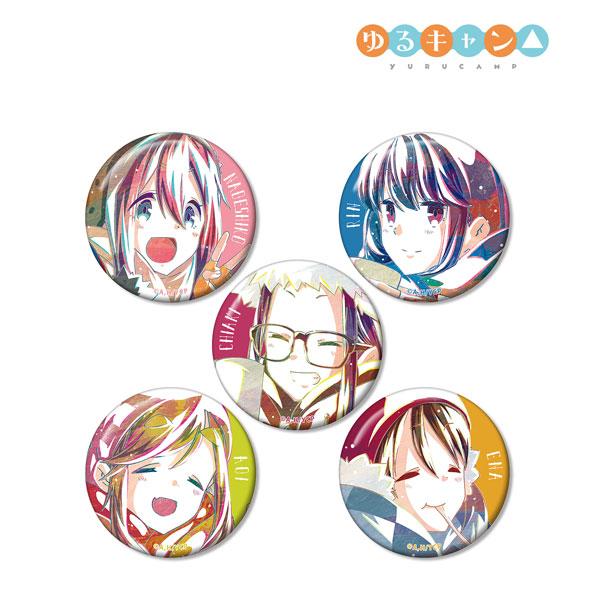 ゆるキャン△ トレーディング Ani-Art 缶バッジ vol.2 5個入りBOX[アルマビアンカ]《07月予約》