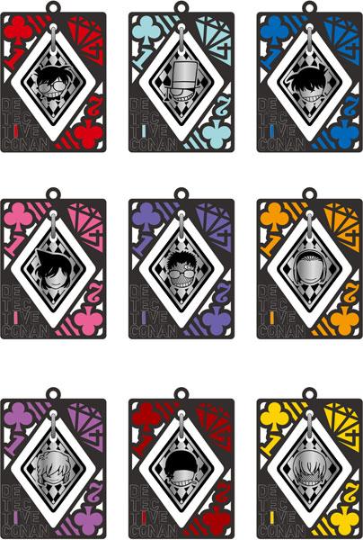 名探偵コナン メタルチャームコレクション 9個入りBOX[ムービック]《06月予約》