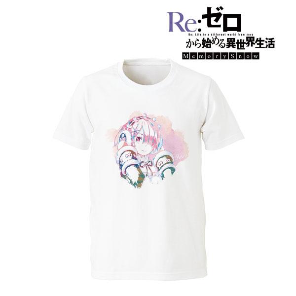 Re:ゼロから始める異世界生活 Memory Snow ラム Ani-Art Tシャツ/メンズ S(再販)[アルマビアンカ]《08月予約》