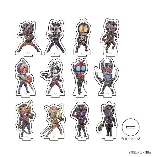 アクリルぷちスタンド「平成仮面ライダー20作品記念」02/グラフアート 12個入りBOX[A3]《発売済・在庫品》