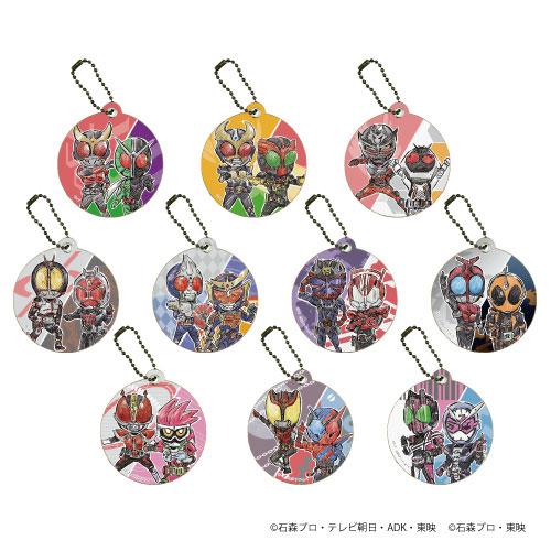 キャラレザーチャーム「平成仮面ライダー20作品記念」01/グラフアート 10個入りBOX[A3]《在庫切れ》