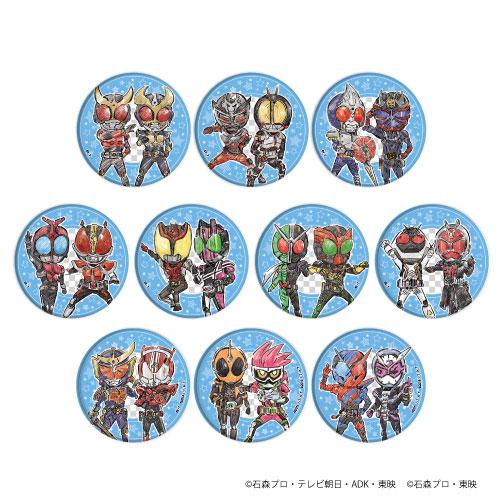 缶バッジ「平成仮面ライダー20作品記念」01/グラフアート 10個入りBOX[A3]《05月予約》