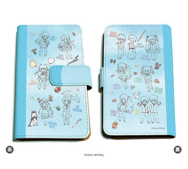 手帳型マルチケース「リトルバスターズ!」05/キャラクター集合 青空(グラフアート)[A3]《在庫切れ》
