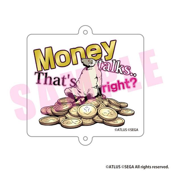 キャサリン・フルボディ アクリルキーホルダー Money talks.. That's right?[アルジャーノンプロダクト]《在庫切れ》