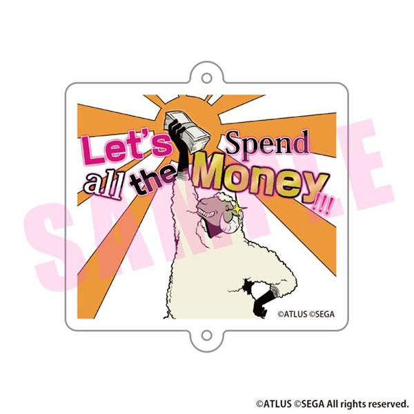 キャサリン・フルボディ アクリルキーホルダー Let's Spend all the Money!!![アルジャーノンプロダクト]《在庫切れ》