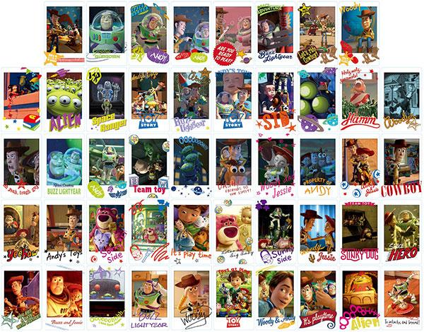 トイ・ストーリー ムービーシーンスナップマイドコレクション 16個入りBOX[エンスカイ]《発売済・在庫品》