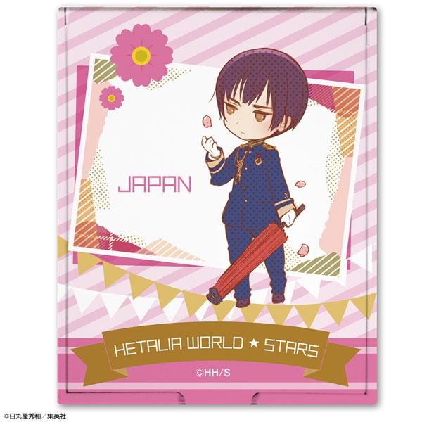 ヘタリア World★Stars コンパクトミラー デザイン03(日本)[ライセンスエージェント]《在庫切れ》