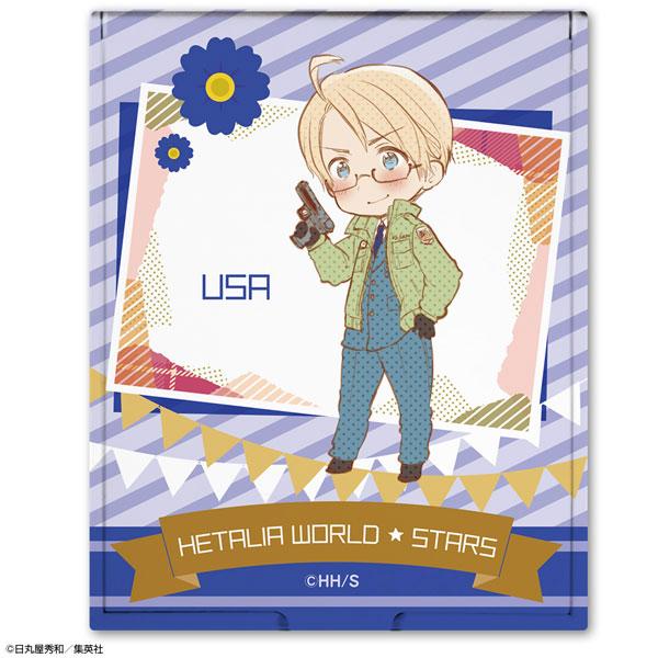 ヘタリア World★Stars コンパクトミラー デザイン04(アメリカ)[ライセンスエージェント]《発売済・在庫品》