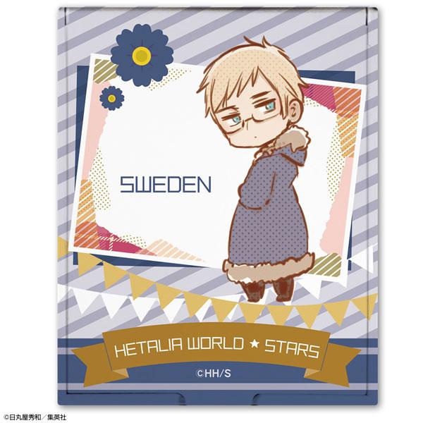 ヘタリア World★Stars コンパクトミラー デザイン11(スウェーデン)[ライセンスエージェント]《在庫切れ》