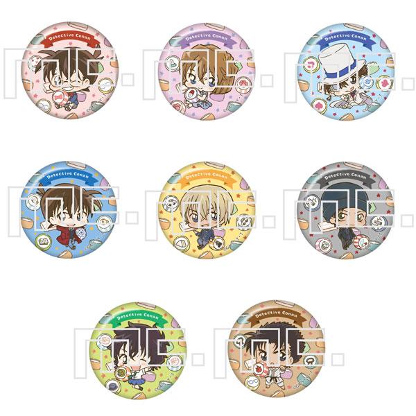 名探偵コナン プティコロシリーズ 缶バッジ 8個入りBOX[マリモクラフト]《発売済・在庫品》