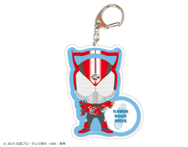 平成仮面ライダーシリーズ でかアクリルキーホルダー 16 仮面ライダードライブ[ショウワノート]《発売済・在庫品》