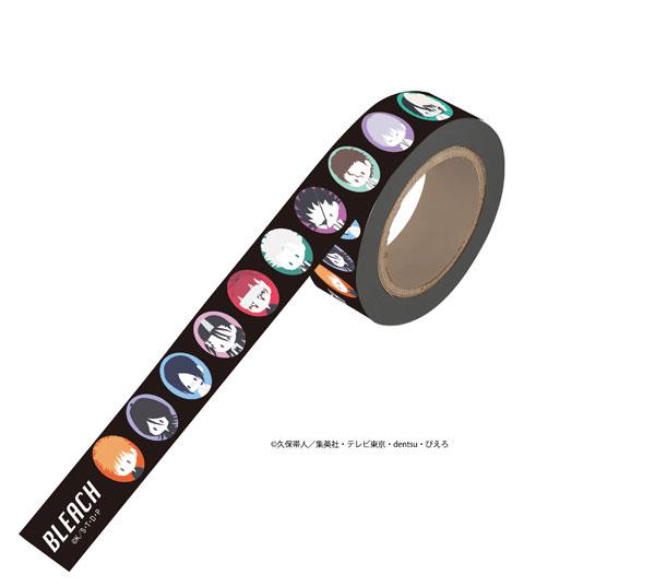 マスキングテープ「BLEACH」01/キャラデザイン(ぽすてる)[A3]《発売済・在庫品》