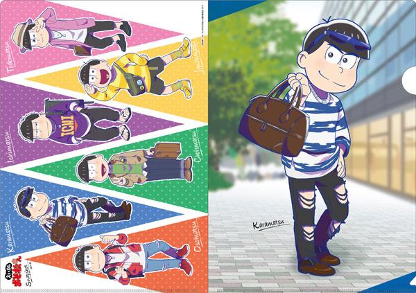 クリアファイル おそ松さん SnapShotシリーズ (2)カラ松(再販)[エイチ・エヌ・アンド・アソシエイツ]《在庫切れ》