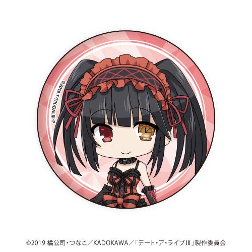 缶バッジ「デート・ア・ライブIII」03/時崎狂三(ミニキャラ)[A3]《06月予約》