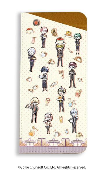 キャラグラスケース「喧嘩番長 乙女 2nd Rumble !!」01/ちりばめデザイン カフェver.(グラフアート)[A3]《在庫切れ》
