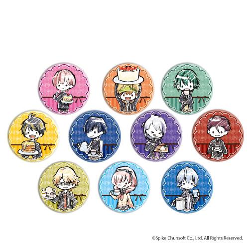 缶バッジ「喧嘩番長 乙女 2nd Rumble !!」02/カフェver. グラフアート 10個入りBOX[A3]《在庫切れ》