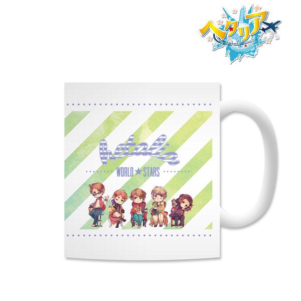 ヘタリア World★Stars マグカップ(ブルー)(再販)[アルマビアンカ]《07月予約》