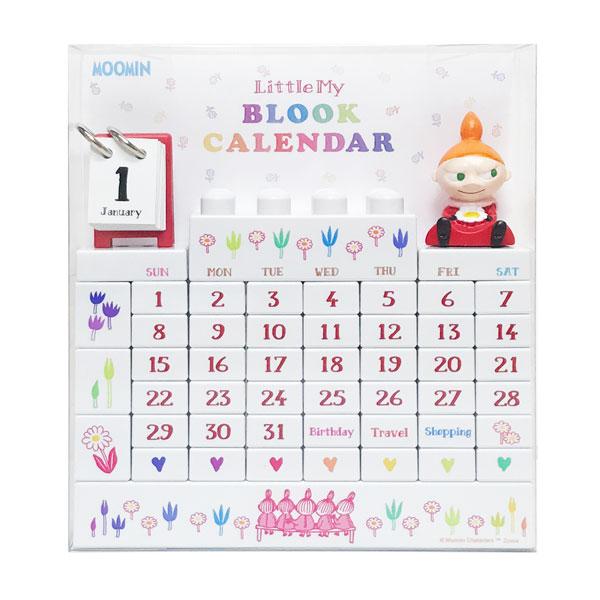 ムーミン ブロックカレンダー Little My[エーワークス]《発売済・在庫品》