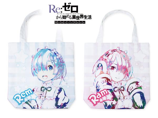 Re:ゼロから始める異世界生活 Memory Snow レム&ラム Ani-Art フルグラフィックトートバッグ[アルマビアンカ]《09月予約》