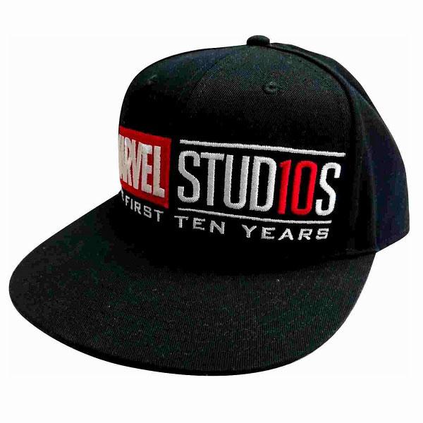 マーベルスタジオ 10th アニバーサリー/ ロゴ キャップ フリーサイズ[イン・ロック]《発売済・在庫品》