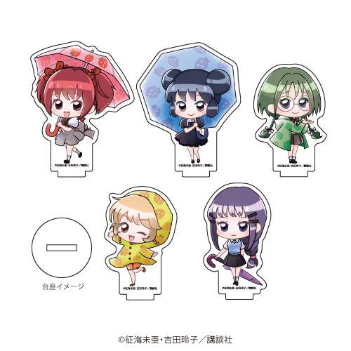 アクリルぷちスタンド「東京ミュウミュウ」01/梅雨ver. ミニキャラ 5個入りBOX[A3]《在庫切れ》