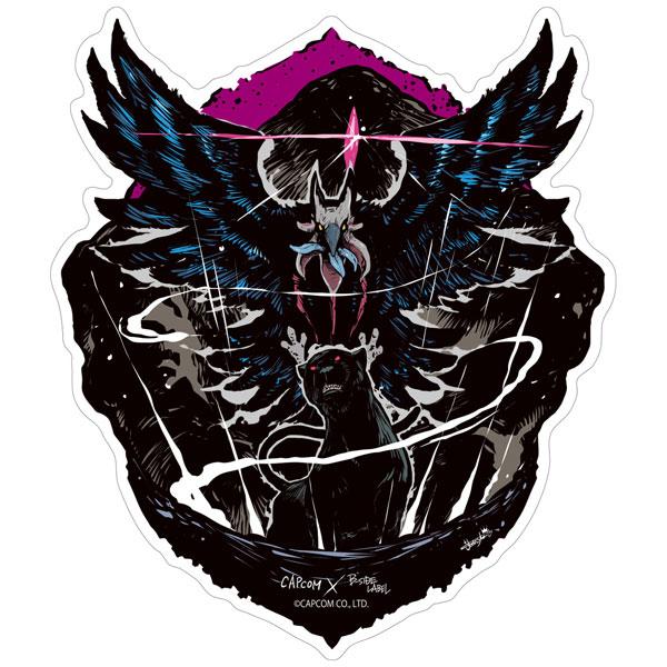 CAPCOM×B-SIDE LABELステッカー デビル メイ クライ 5 魔獣[B-SIDE LABEL]《09月予約》