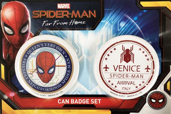 スパイダーマン ファー・フロム・ホーム/ 缶バッジセット[イン・ロック]《発売済・在庫品》