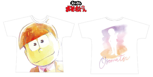 えいがのおそ松さん おそ松 Ani-Art フルグラフィックTシャツ ユニセックス L[アルマビアンカ]《在庫切れ》