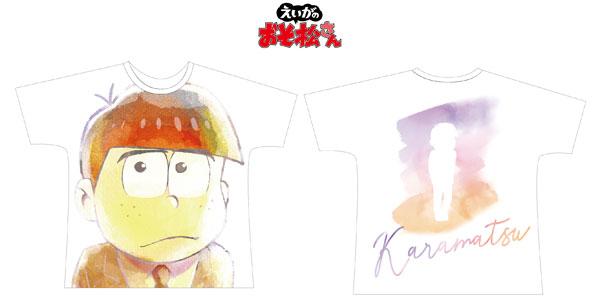 えいがのおそ松さん カラ松 Ani-Art フルグラフィックTシャツ ユニセックス L[アルマビアンカ]《11月予約》