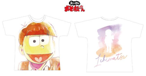 えいがのおそ松さん 一松 Ani-Art フルグラフィックTシャツ ユニセックス L[アルマビアンカ]《11月予約》
