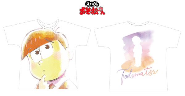 えいがのおそ松さん トド松 Ani-Art フルグラフィックTシャツ ユニセックス S[アルマビアンカ]《在庫切れ》