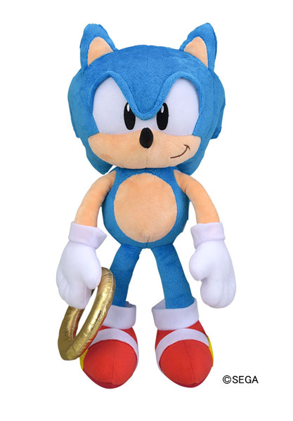 Sonic The Hedgehog Outfit Plush Classic Sonic Sega Interactive Merchpunk
