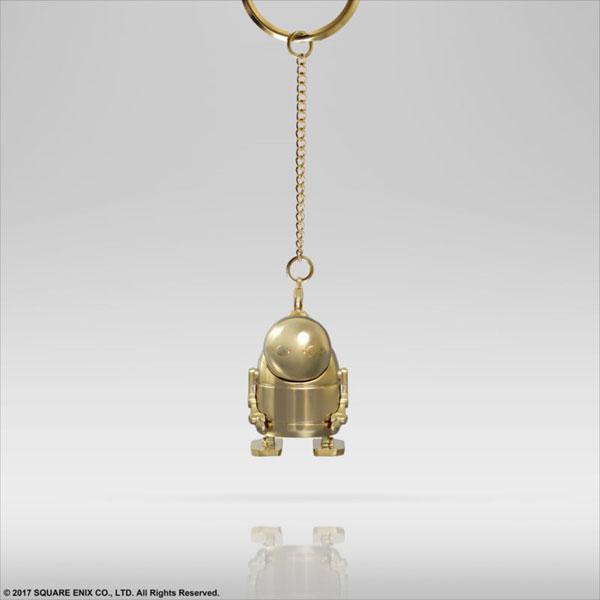NieR:Automata メタルキーホルダー 黄金の機械生命体[スクウェア・エニックス]《発売済・在庫品》