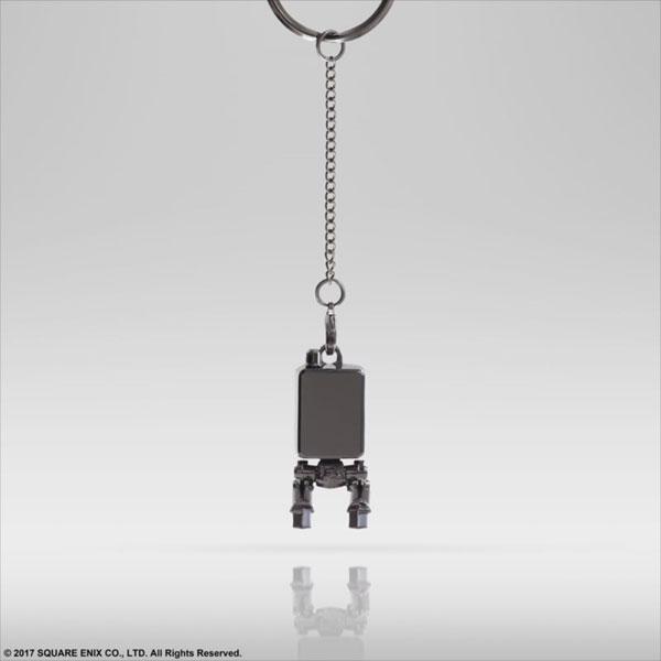 NieR:Automata メタルキーホルダー ポッド153[スクウェア・エニックス]《発売済・在庫品》